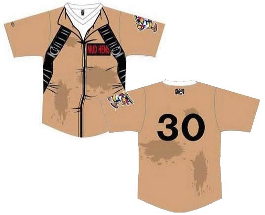 Toledo Mud Hens unveil Ghostbusters Baseball Jersey