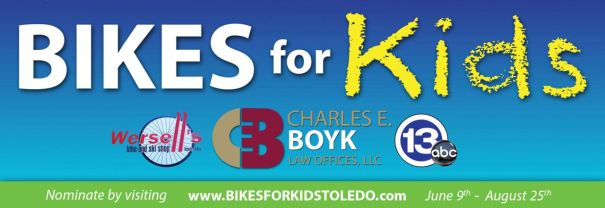2014 bikes for kids logo