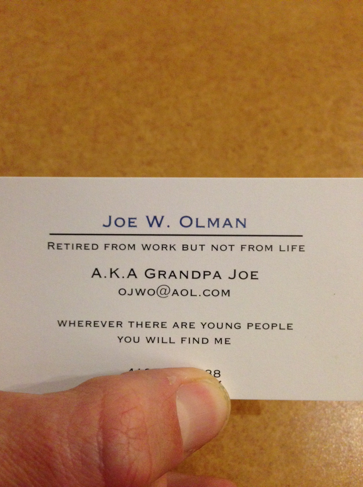 Business Cards For Retired People - Best Business Card Design and ...