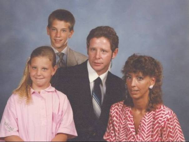 Baumhower family photo courtesy of the 1987 St. Clement's family directory.