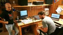 View of the studio